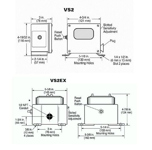 راهنما نصب و راه اندازی ویبریشن سوئیچ های سری VS2