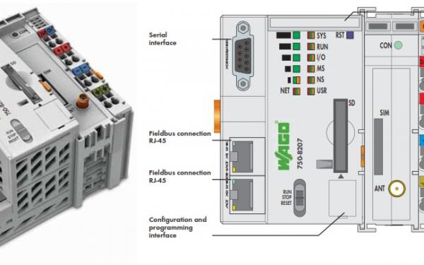 معرفی کنترلرهای مدرن کمپانی WAGO سری PFC200